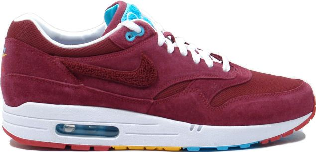 nike air max dames bordeaux rood